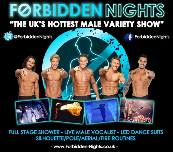 Forbidden Nights- **LIMITED AVAILABILITY**