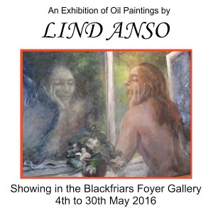 An Exhibition of Oil Paintings by Lind Anso
