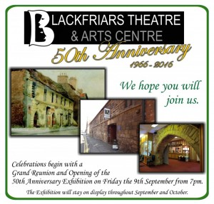 Blackfriars 50th Anniversary Exhibition