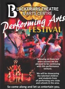Blackfriars Performing Arts Festival