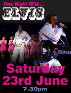 One night with Elvis