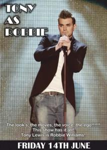 Tony as Robbie