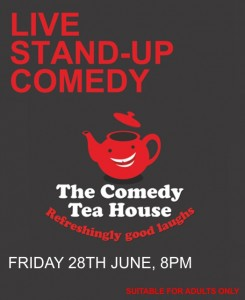 The Comedy Tea House - June 2019