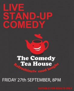 The Comedy Tea House - September 2019