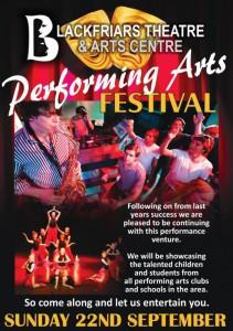 Blackfriars Performing Arts Festival - September 2019