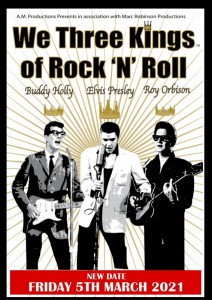 We Three Kings of Rock 'n' Roll - RESCHEDULED