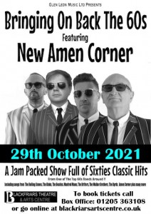 Bring On Back The 60's - OCT 2021