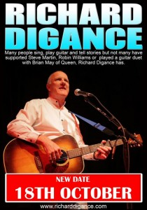 Richard Digance - NEW DATE