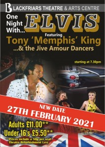 One Night with Elvis - RESCHEDULED