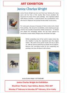 Janice Charles Wright Art Exhibition