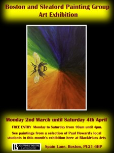 Boston and Sleaford Painting Group Art Exhibition