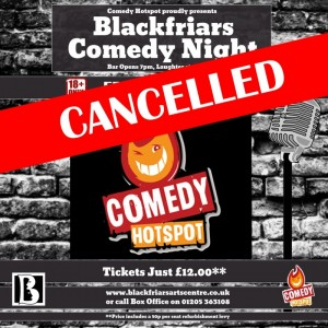COMEDY HOTSPOT - CANCELLED