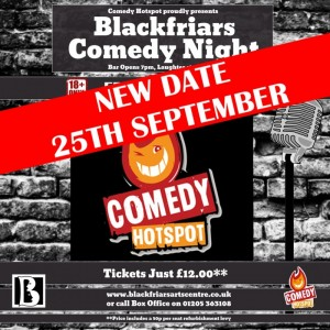 COMEDY HOTSPOT - RESCHEDULED