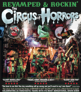 The Circus of Horrors - Revamped and Rockin'