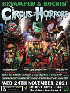 The Circus of Horrors - Revamped and Rockin' 2021
